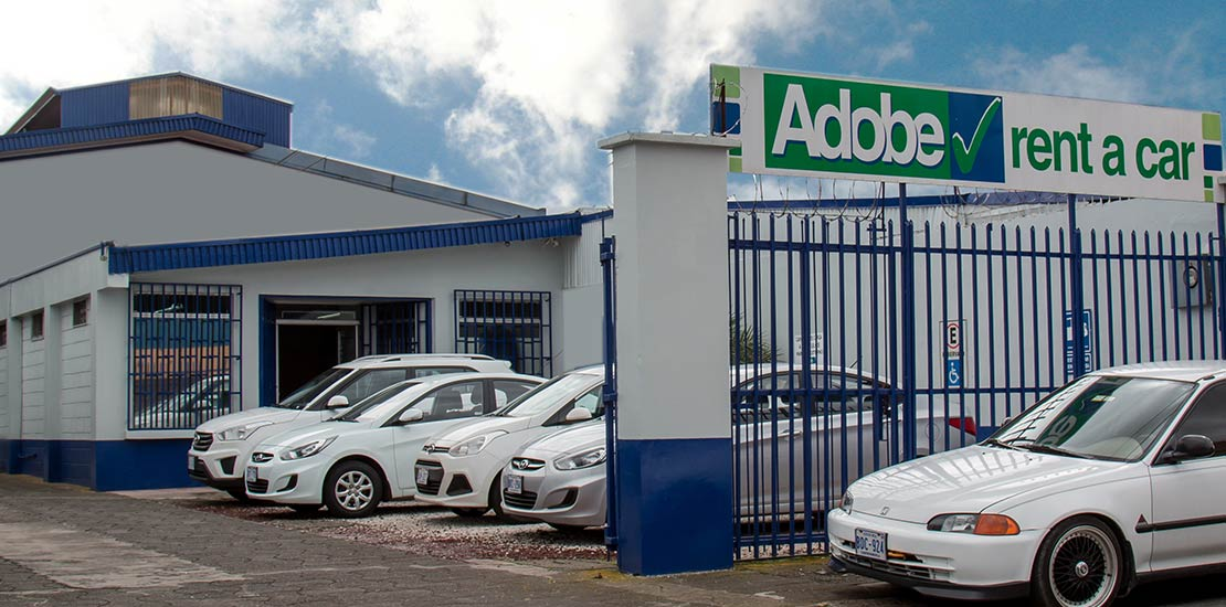 Adobe Rent a Car Cartago