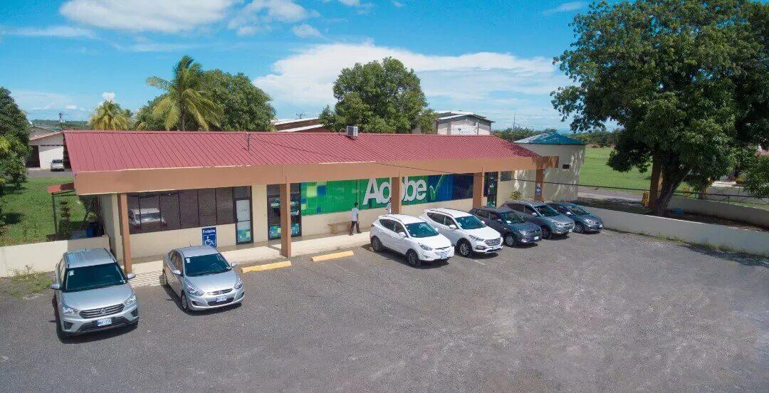 Adobe Rent A Car S Office Costa Rica San Jose